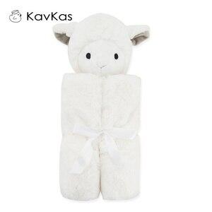 Image 3 - Kavkaz Bebek Battaniyeleri 76x76cm Bebek Yatak Kış doğum günü hediyesi Yenidoğan Yumuşak Sıcak Mercan Polar Peluş Hayvan Eğitici peluş oyuncak
