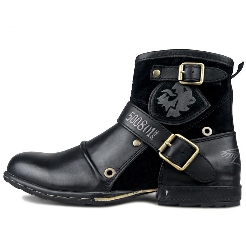 39 Otoño Ue Otto La Tobillo Los Vaca brown Zona Tamaño Invierno Fur With De Algodón brown black Zapatos 46 Botas Cuero Acolchado Alta Genuino Black Hombres Fur zapatos wHqEH