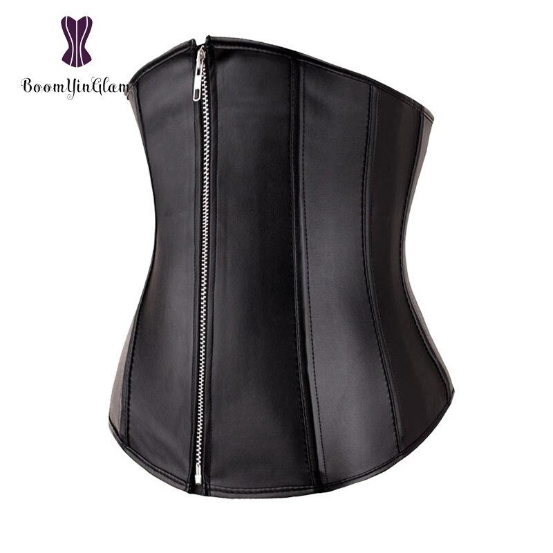 2835   высокое качество передняя молния Для женщин тело скульптуры белье  Форма Похудение талии Cincher грудью корсет 33d36b42af3