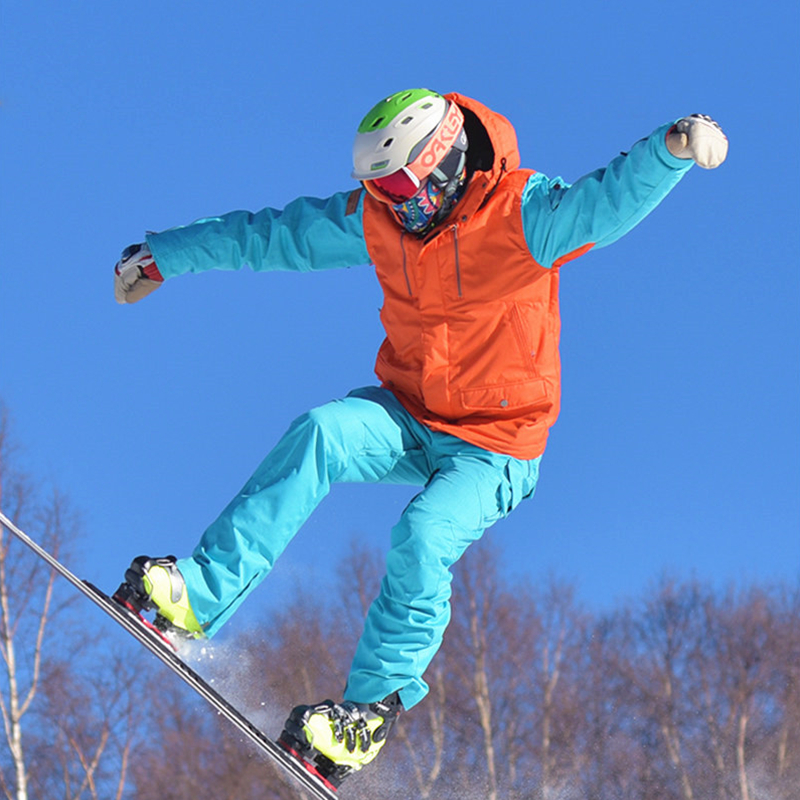 Men's And Women's Snowboarding Sets Snowboard Suit Winter Ski Clothes Skiing Equip Warm -30 Windproof Waterproof  Rate 10000