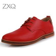 Vente chaude Nouveau oxford Casual chaussures hommes Mode Hommes En Cuir Chaussures Printemps Automne Hommes En Cuir Verni Plat hommes chaussures WGL-K03-1