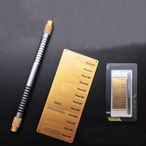 Image 4 - Qianli CPU Scheda Madre di Riparazione Della Lama di A8 A9 A10 A11 Burin Per Rimuovere Il Telefono ic Coltelli Per il iPhone Ic Chip di Riparazione sottile Lama di Strumenti di