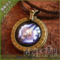 World of Warcraft Death Knight DK Pendant Necklace Free Shipping
