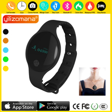 Yilizomana Smart Wristband LED Screen Steps Counter Rate Sleep Monitor Call Reminder Smartwatch for Android IOS golife care x bluetooth 4 0 smart wristband with sleep monitor medicine time reminder