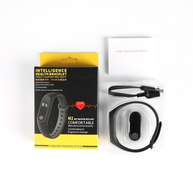 Wrist Sport Fitness Watch Bracelet Display Sports Tracker Digital LCD Walking Pedometer Run Step Calorie Counter WristBand 4