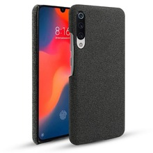 For Xiaomi Mi 9 Case Luxury Slim Ultra Thin Vintage Woven Fabric Cloth Anti-scratch Hard PC Cover For Xiaomi MI9 Mi 9 Case 6.39' xiaomi mi 9 case silm shockproof cover luxury ultra thin smooth hard pc phone case for xiaomi mi 9 back cover for xiaomi mi9