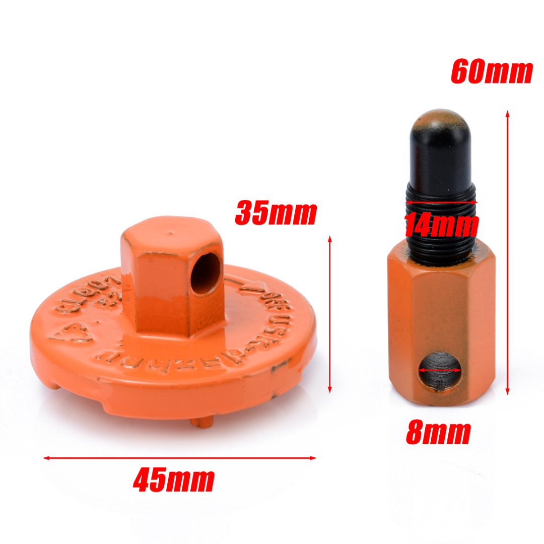 Chainsaw Clutch Parts Removal Piston Stopper Tool For Chainsaw Clutch Drum Chain Saw Parts clutch fits for 25cc 25cc 2500 chain saw spare parts