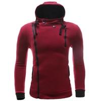 New Brand Sweatshirt Men Hoodies Fashion Solid Fleece Hoodie Mens Sports Men S Tracksuits Slim Fit
