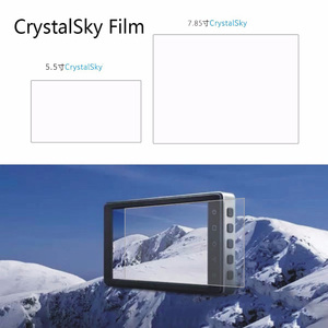 Image 2 - 2pcs Highlight Explosion proof HD Protective Film Screen Protector 5.5 7.85 inch for DJI CrystalSky Monitor display Accessories