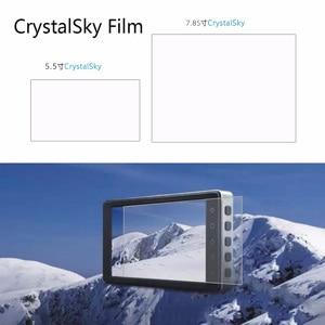 Image 2 - 2pcs 하이라이트 방폭 hd 보호 필름 화면 보호기 5.5 7.85 인치 dji crystalsky 모니터 디스플레이 액세서리