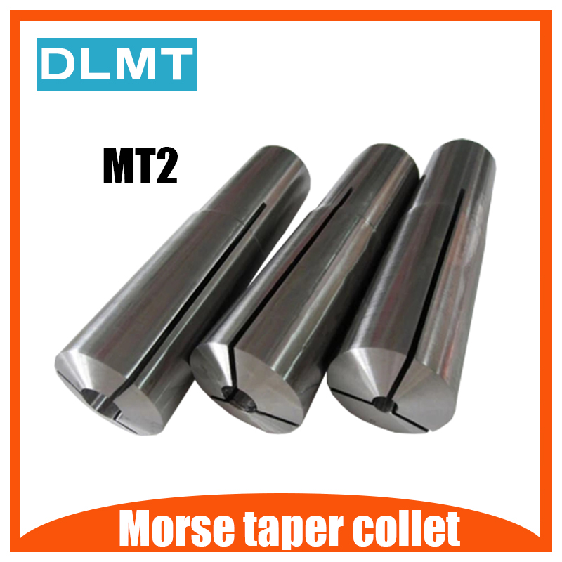 MT2 collet d=3 4 5 6 <font><b>8</b></font> 10 12 <font><b>mm</b></font> morse taper 2# collet image