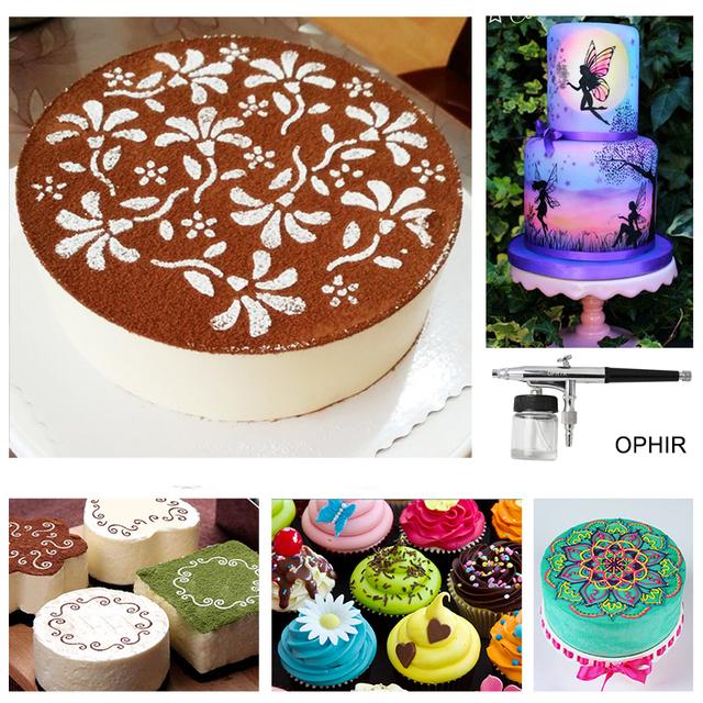 OPHIR PRO Airbrush Cake Decorating Tool