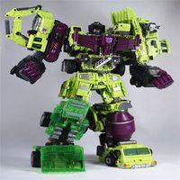 Transformation 5 NBK 01 03 Shovels Bulldozer Ko Version Gt Scraper Forklift Action Figures Robot Toys