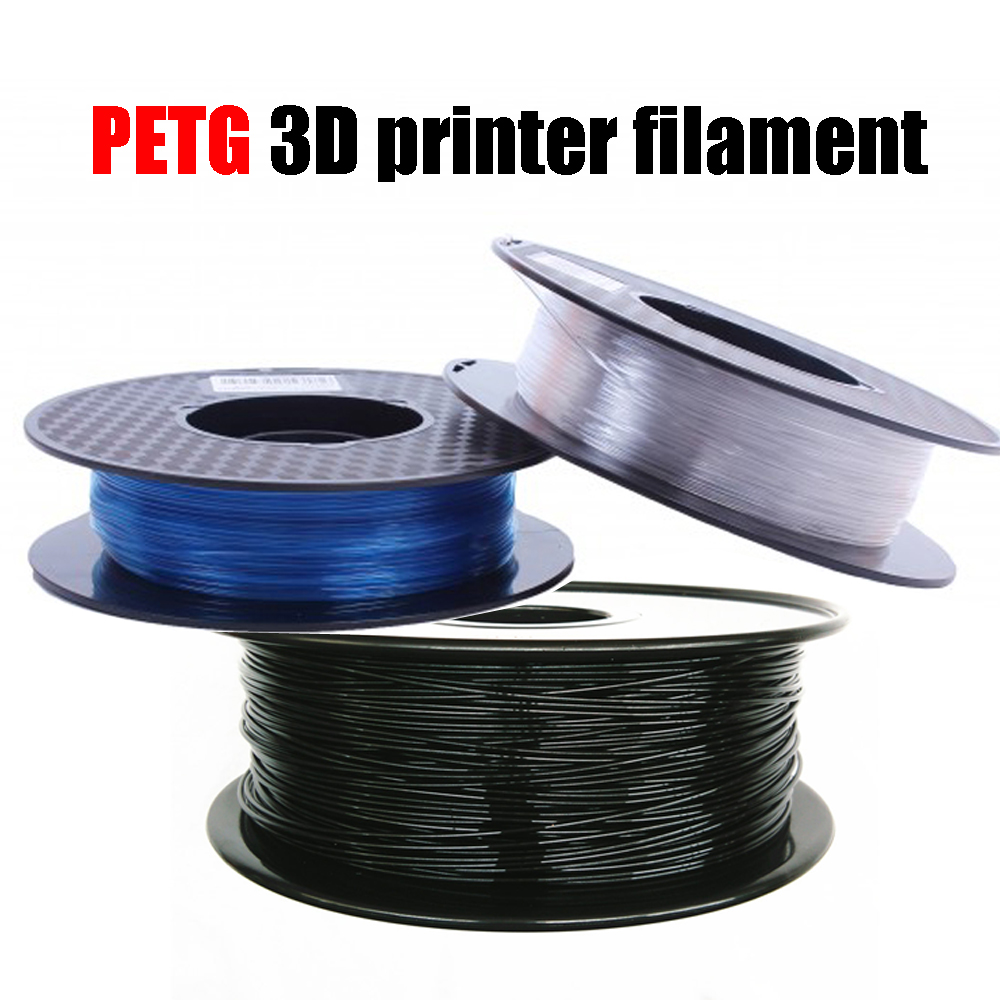 1KG PETG 3D Printer Filament 1.75mm/3.0mm Environmental Protection Consumables Materials For 3D Printer micromake 3d printer filament high quality pla materials 1 75mm for 3d printer 1kg environmental consumable