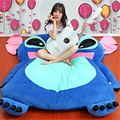 Fancytrader Japan Anime Plush Stitch Bed Tatami Giant Soft Thickened Beanbag Carpet Mattress Bedding Pad