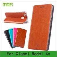 Mofi Case For Xiaomi Redmi 4X Case Book Flip Style High Quality Mobile Phone Case For