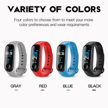 M3 Smart Band Wristband Health Heart rate/Blood/Pressure/Heart Rate Monitor/Pedometer Sports Bracelet for Men Women