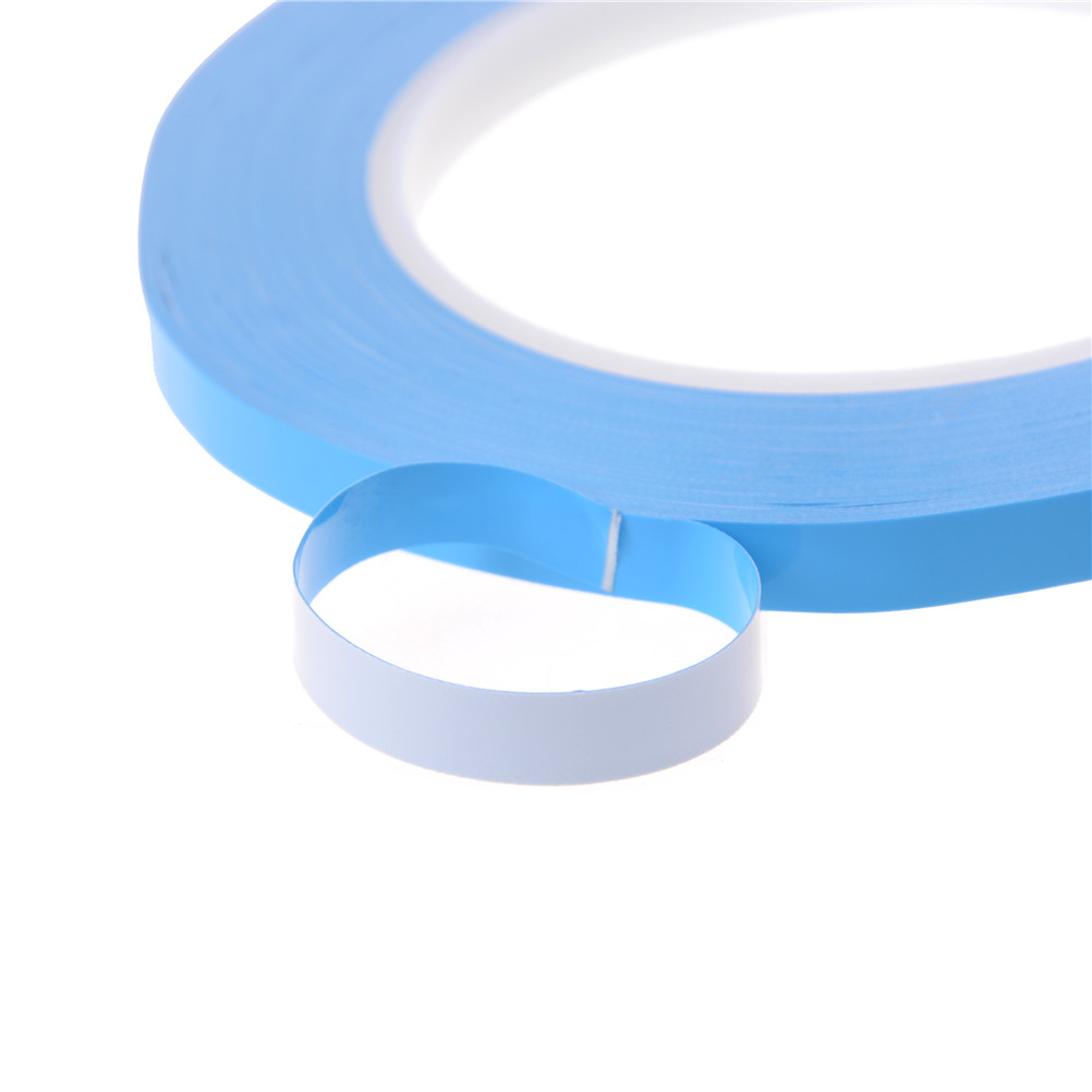 1 Roll Thermal Dissipation Adhesive Tape Blue Double Sided