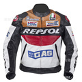 Factory direct sale New DUHAN Moto GP motorcycle REPSOL Racing Leather Jacket PU leather repsol jackets Free shipping