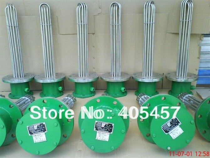 Tube de chauffage électrique anti-déflagrant, tuyau de chauffage haute puissance, élément chauffant de type U, tube en U, élément chauffant industriel