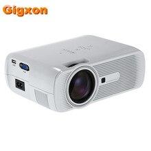 Gigxon-G80 Envío de la Nueva Mini Portátil Proyector Home Cinema Teatro de Vídeo 1080 P HD LED Multi-Interfaz mejor que GM60