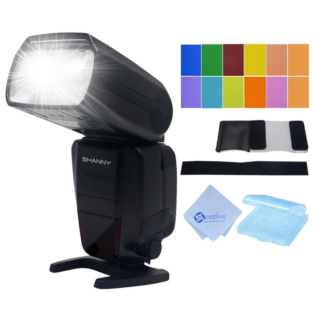 Shanny SN600FGZ P TTL GN60 1 8000s Slave On Camera Flash speedlite for Pentax K100 K100D