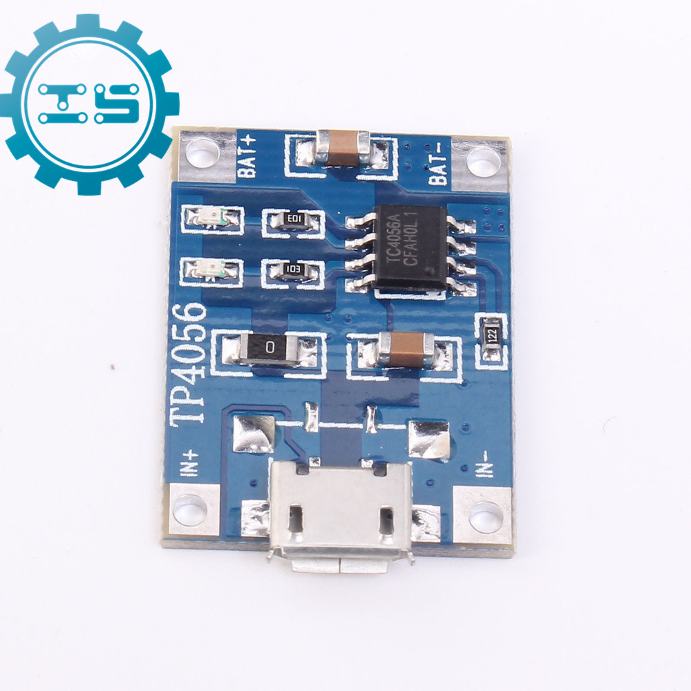 10pcs TP4056 Micro USB 5V 1A 18650 Lithium Battery Charger Module Charging Board With Protection 1A Li-ion 18650 lithium battery 5v micro usb 1a charging board with protection charger module for arduino diy kit