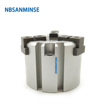 NBSANMINSE Air Gripper Pneumatic Cylinder MHS SMC Type  Parallel Double Acting 3 Finger Automation
