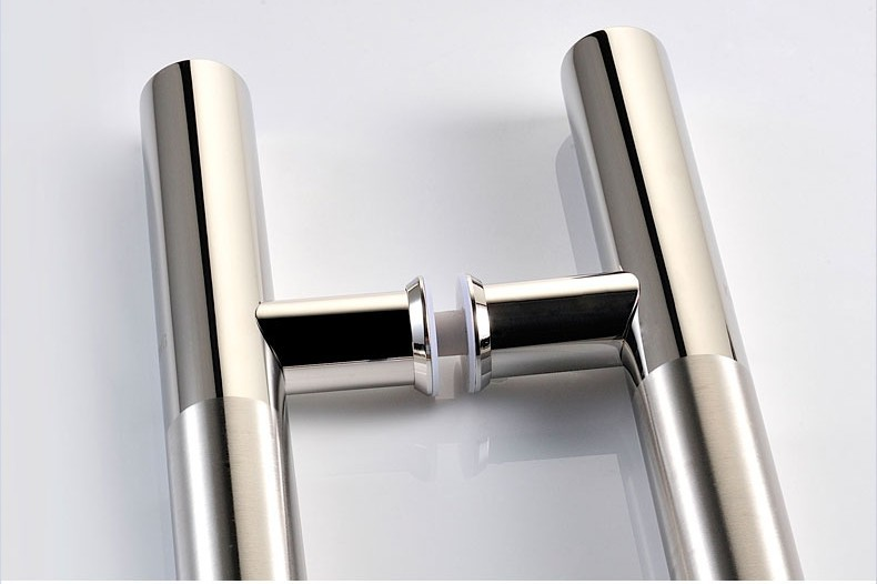 800MM Long (600MM Pitch) Upscale Polishing And Wire Drawing Process 100% 304 Stainless Steel Tubing Pull Door Handle, Door Knob