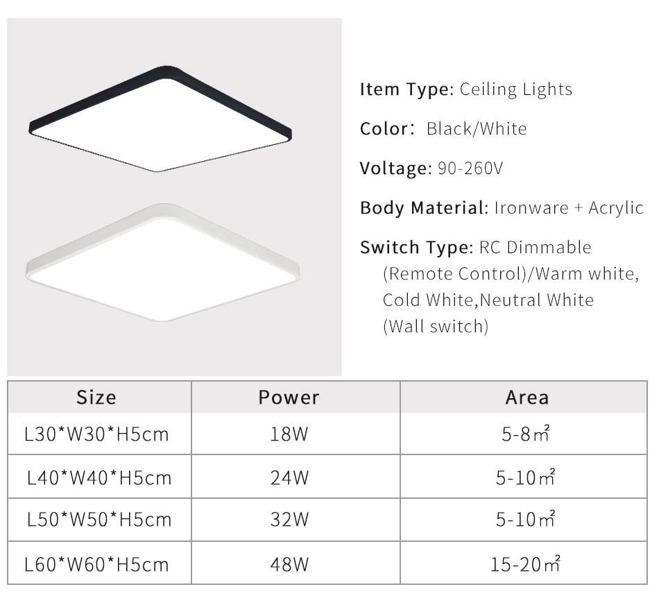 IMINOVO-Ultra-thin-5CM-LED-Mordern-Simple-Ceiling-Light-Lamp-Black-White-Round-Square-for-Living_10