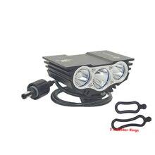 SolarStorm X3 T6 налобный светильник s, велосипедный светильник 6000 лм XM L 3T6 светодиодный фонарь с 4 режимами, Передний фонарь для велосипеда