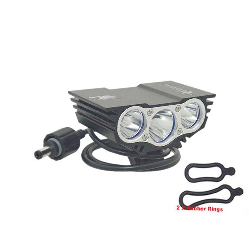 X3 T6 Cabeça luzes luz da bicicleta SolarStorm 6000 lm XM-L 3T6 LED 4 Modos de luz de Bicicleta lâmpada de Frente