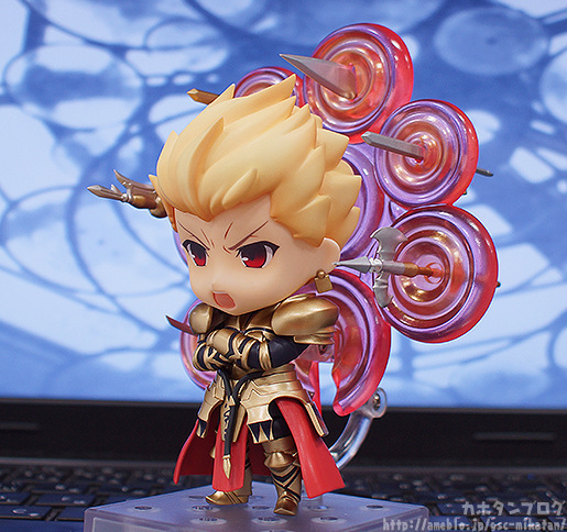 fate stay night japan anime q version king of heroes gil gamei pvc