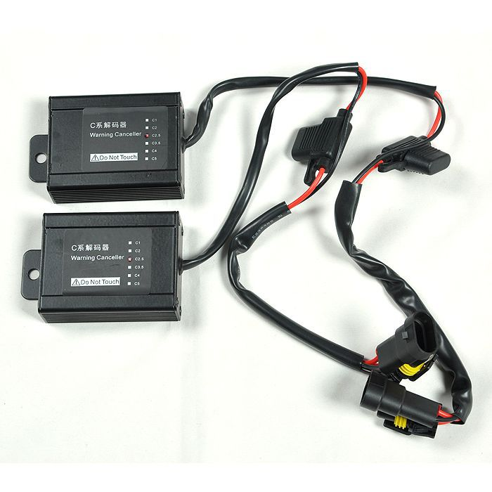 2 Hid Warning Canceller Error Decoder For Benz For BMW For Golf [CP493]