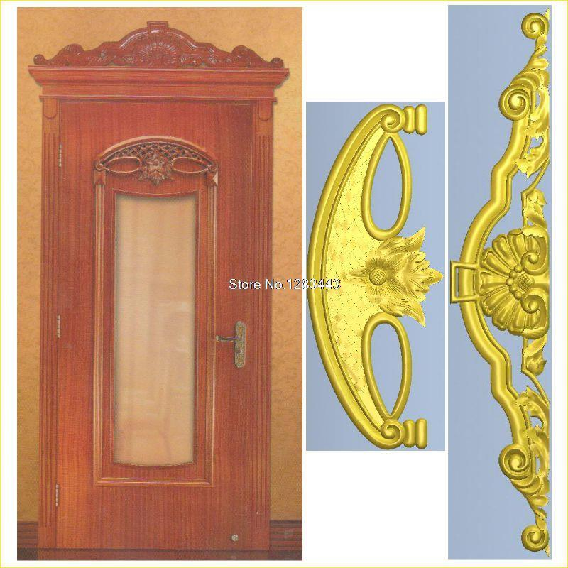 2pcs/lot Door_12 3D Model STL relief for cnc STL format Furniture 3D STL format furniture decoration martyrs faith hope and love and their mother sophia 3d model relief figure stl format religion for cnc in stl file format