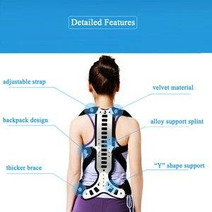 Image 3 - Corrector de postura para hombre y mujer, soporte cómodo para espalda y hombros, dispositivo médico para mejorar la mala postura, 1 Uds.