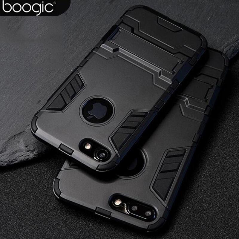 För iPhone 6 6s 6plus PC + Silikon Anti Shock Armor Shield 3D Fodral - Reservdelar och tillbehör för mobiltelefoner - Foto 6
