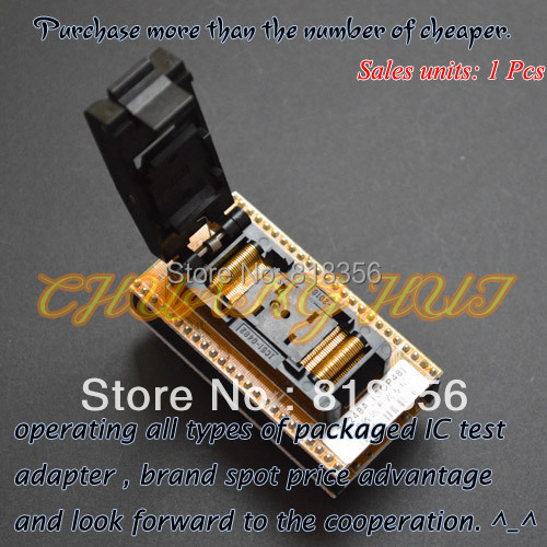 IC TEST ZY248A Programmer Adapter TSOP48 to DIP48 Adapter test socket