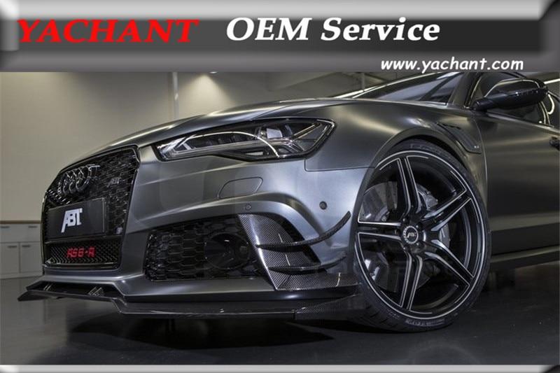 Audi A6 Wallpaper Hd Car Styling Carbon Fiber Front Bumper Lip Fit For 2013
