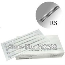 25 PCS 5 RS Sterile Disposable Tattoo Needles 5 Round Shader 5RS For 5RT Tips