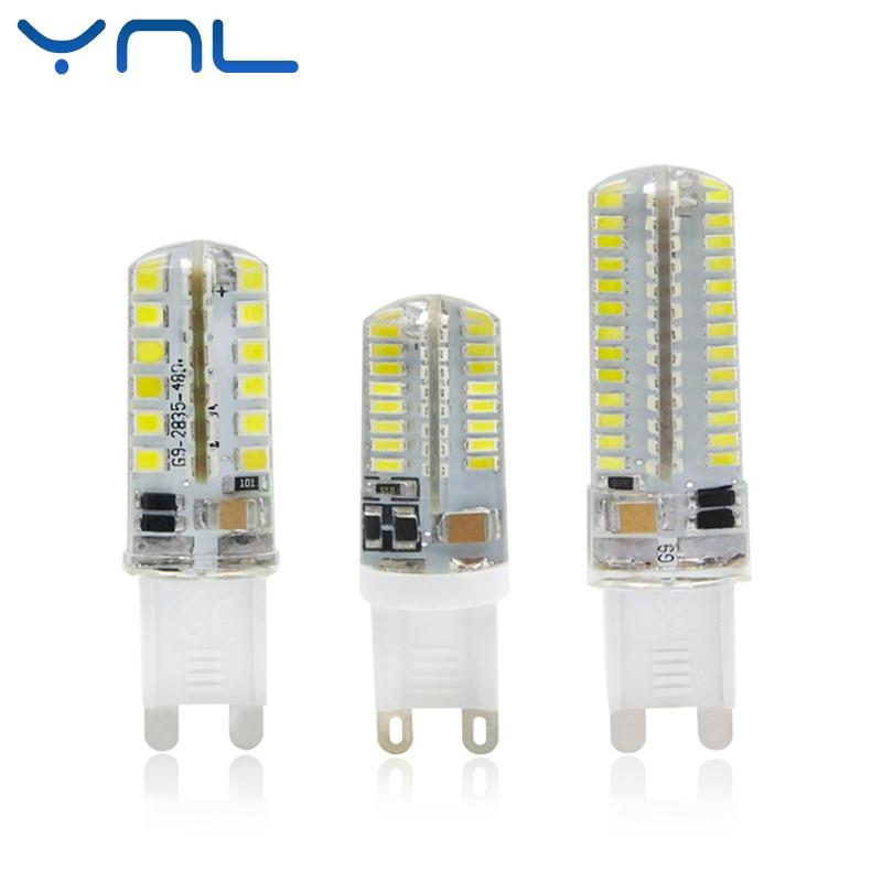 G9 LED Lamp AC 220V lampara led Bulb 7W 9W 10W SMD 2835 3014 48 64 104leds Lampada LED 360 degree Beam Angle led spotlight Bulb цены онлайн