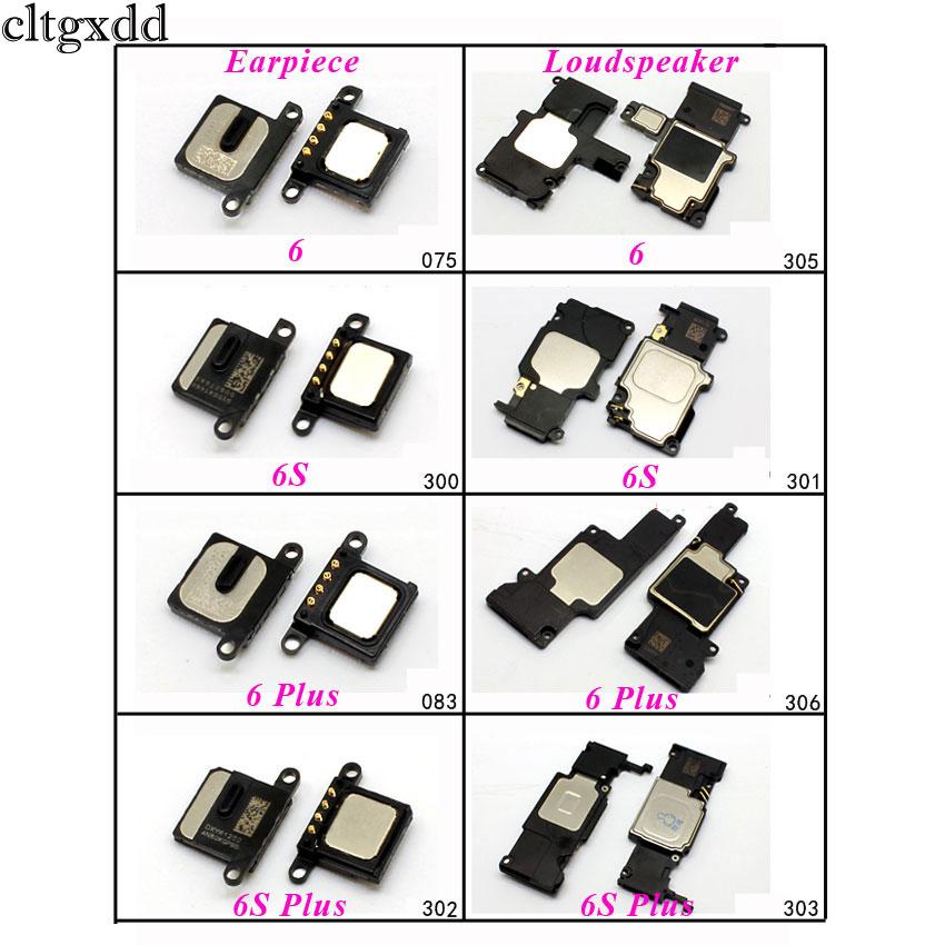 cltgxdd Loud Speaker / Earpiece For iPhone 6 6S 6Plus 6S Plus 4.7 5.5 Loudspeaker Buzzer Ringer Ringtone Sound Flex Cable