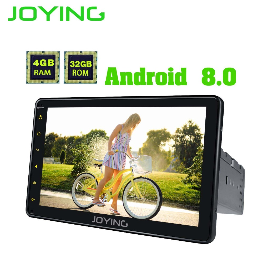 8 Single 1 Din Head Unit 4GB RAM Multimedia Player Universal Android 8.0 Car Radio Stereo Audio Support Video Out Tape Recorder