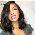 Full Lace Front Wigs Human Hair Bob Wigs With Baby Hair Short Human Hair Wigs For Black Women Brazilian Full Lace Curly Wigs