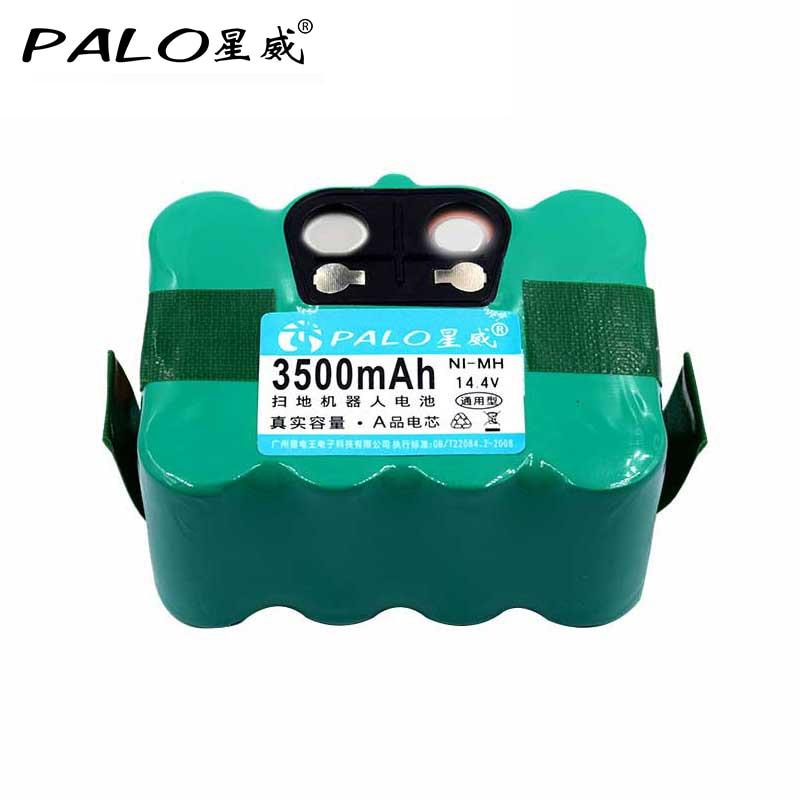 Palo sr03 14.4 v 3500 mah nimh para irobot bateria recarregável para a320 9200 xr210c r770 FM-019 xr 9700 3100 baterias kv8