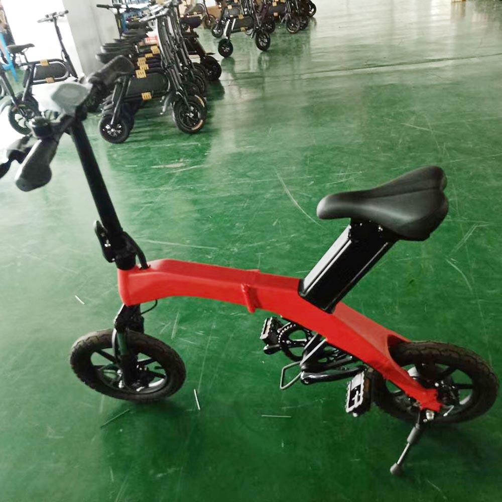 14 Zoll Aufzug Größe Elektrische Roller Volwassenen Faltbare Mini E-bike Gummi Kette Eine GroßE Auswahl An Farben Und Designs Sport & Unterhaltung