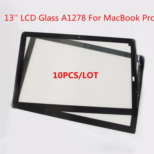 "10 PCS/LOT A1278 Orignal LCD Glass Lens SCREEN Front For MacBook Pro 13"" A1286 2008 2009 2010 2011 2012 2013"