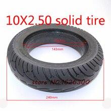 Tamanho 10 polegadas sólido tyre10x2.50 pneu se encaixa scooter elétrico equilíbrio unidade pneu de bicicleta 10x2.5 pneu inflável e tubo interno