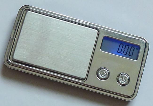 najmniejsza na świecie elektroniczna waga kieszonkowa Mini 100g x - Przyrządy pomiarowe - Zdjęcie 2
