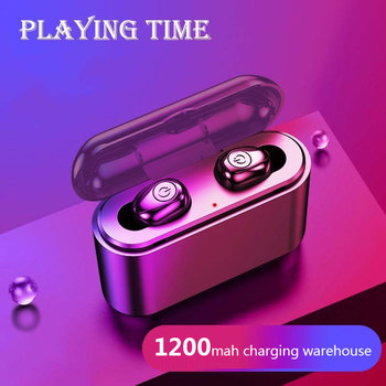X8 True Wireless Earbuds Bluetooth 5.0 Earphones 5D Mini TWS Waterproof Headfrees Wireless Headphones Headset for Smart Phone
